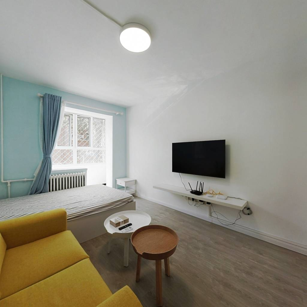整租·铁路巷 2室1厅 南卧室图