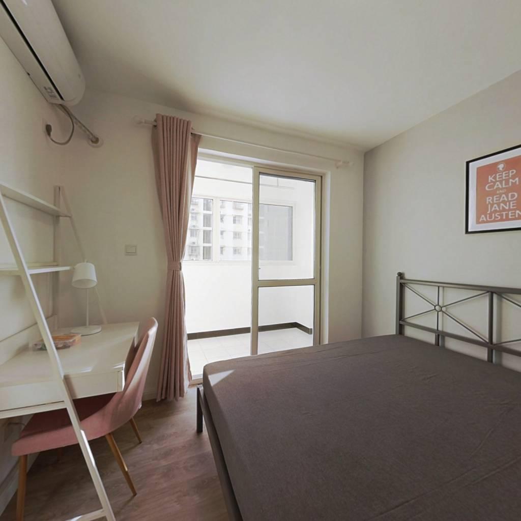 合租·春江新城新河苑二期 3室1厅 南卧室图