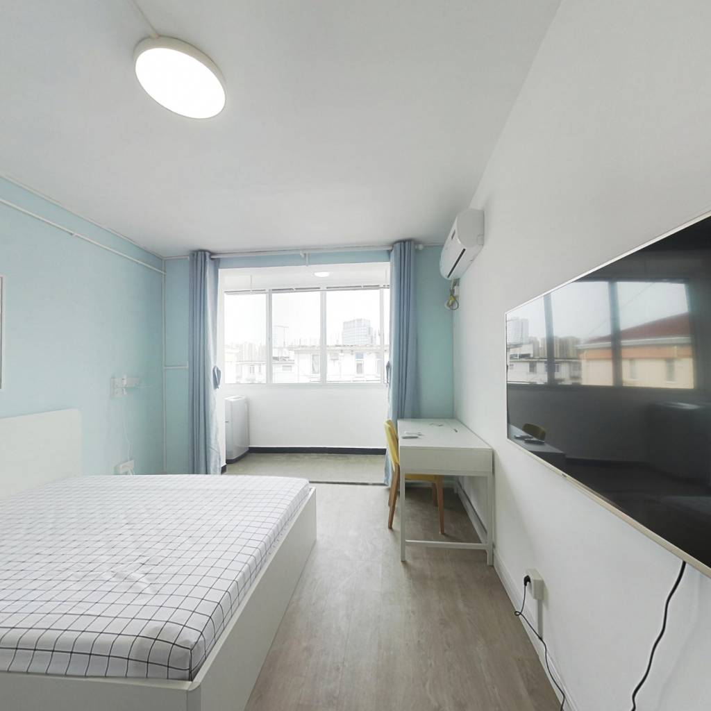 整租·宜川六村 1室1厅 南卧室图