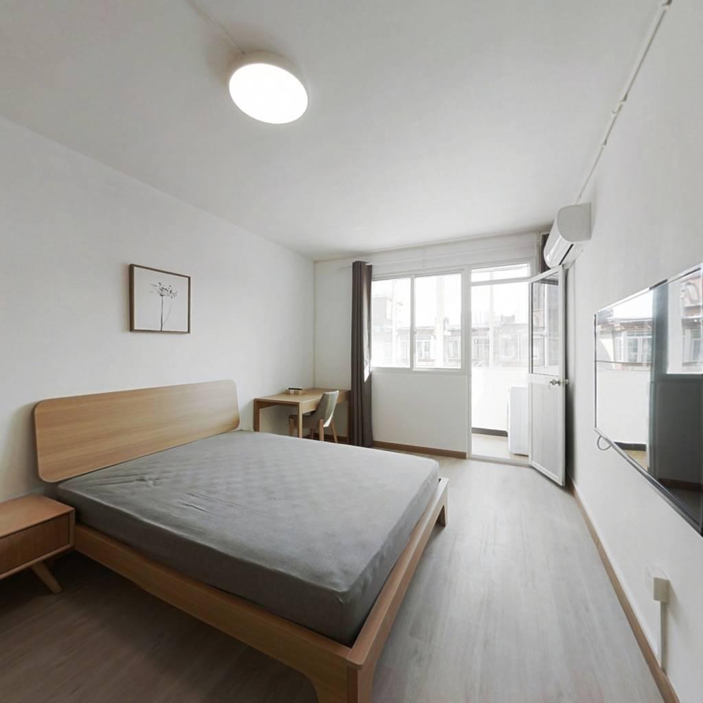 整租·幸福公寓 2室1厅 南北卧室图