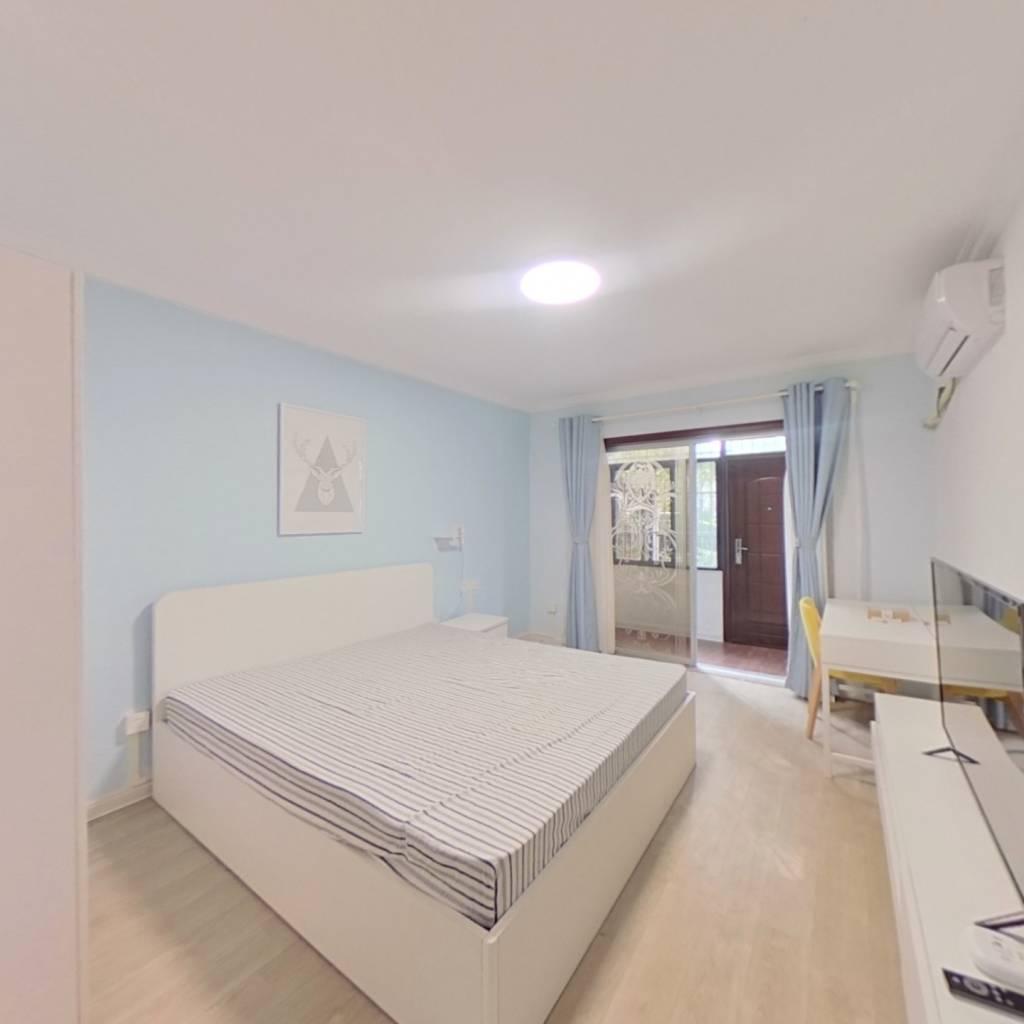整租·翠苑三区 1室1厅 南卧室图