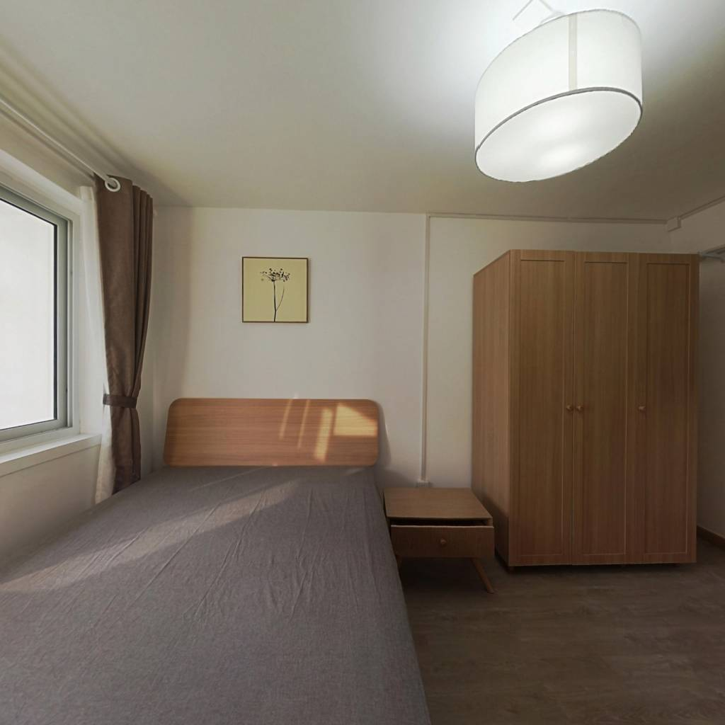 整租·建材城西一里 2室1厅 南北卧室图
