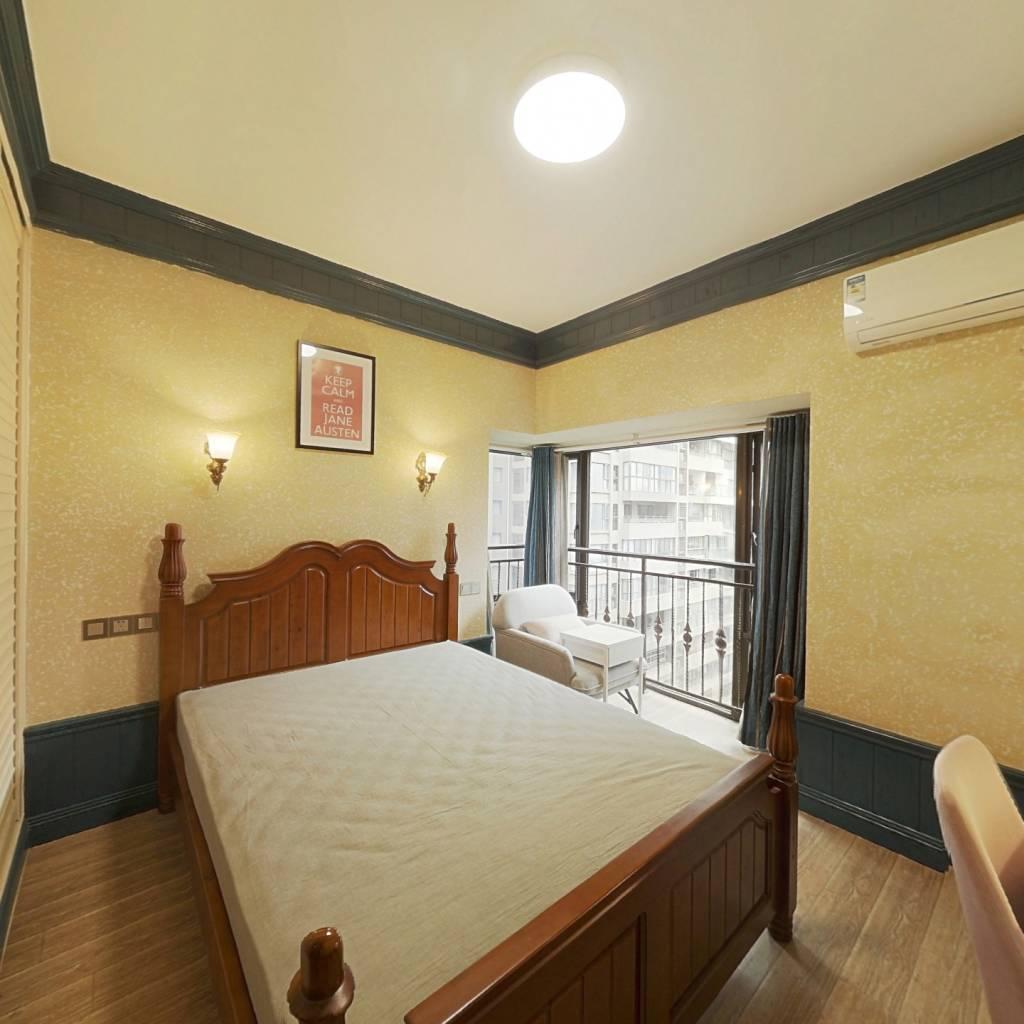 合租·蜀郡又一城 4室2厅 西卧室图