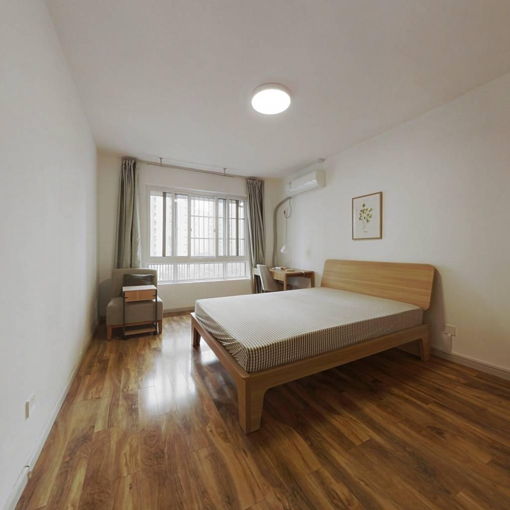 合租·望江新园三园 4室1厅 南卧室图