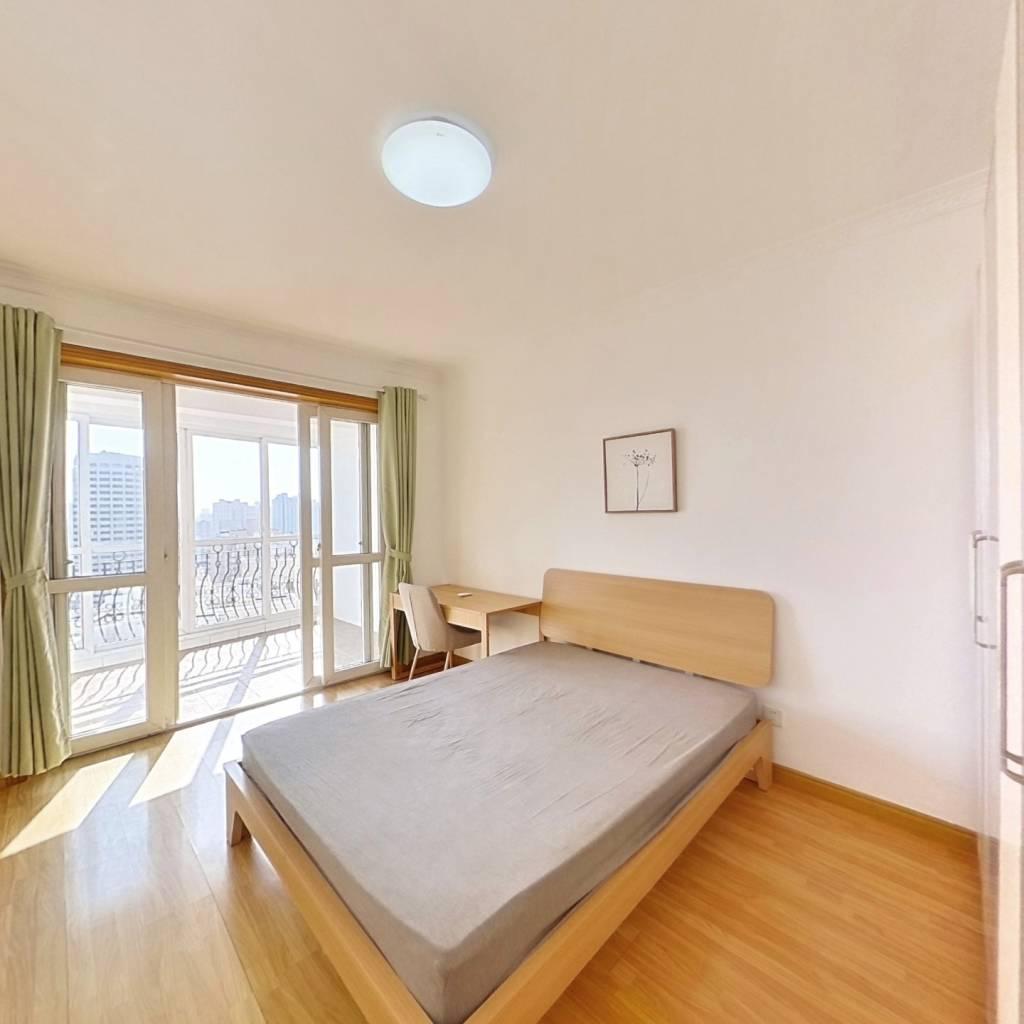 整租·中山公寓 2室1厅 南卧室图