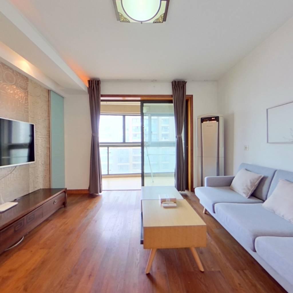 整租·新湖明珠城(三期) 2室2厅 东南卧室图