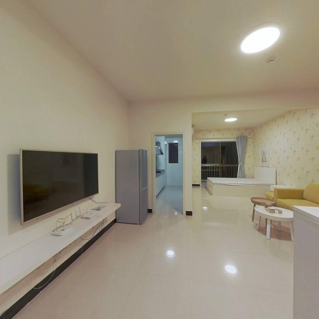 整租·诚基经贸中心 1室1厅 西卧室图