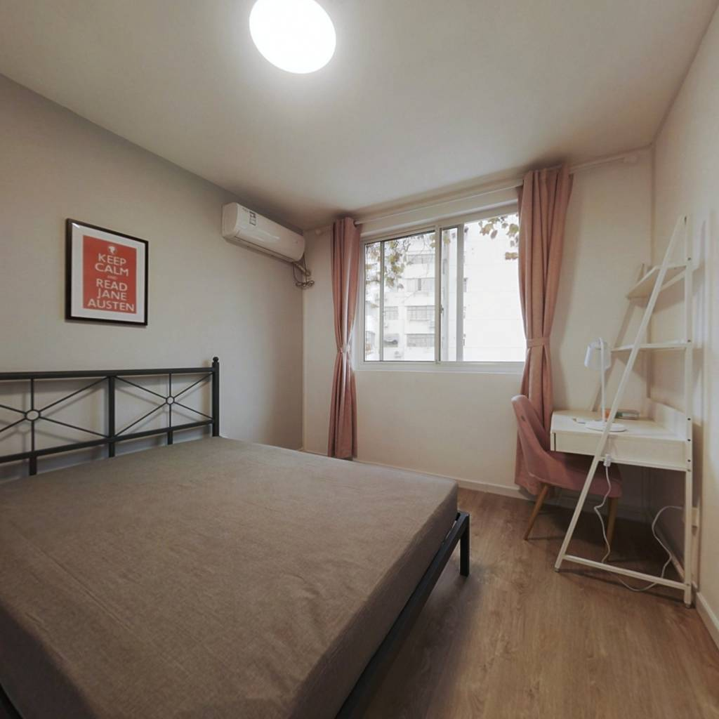 合租·田林十三村 3室1厅 东南卧室图