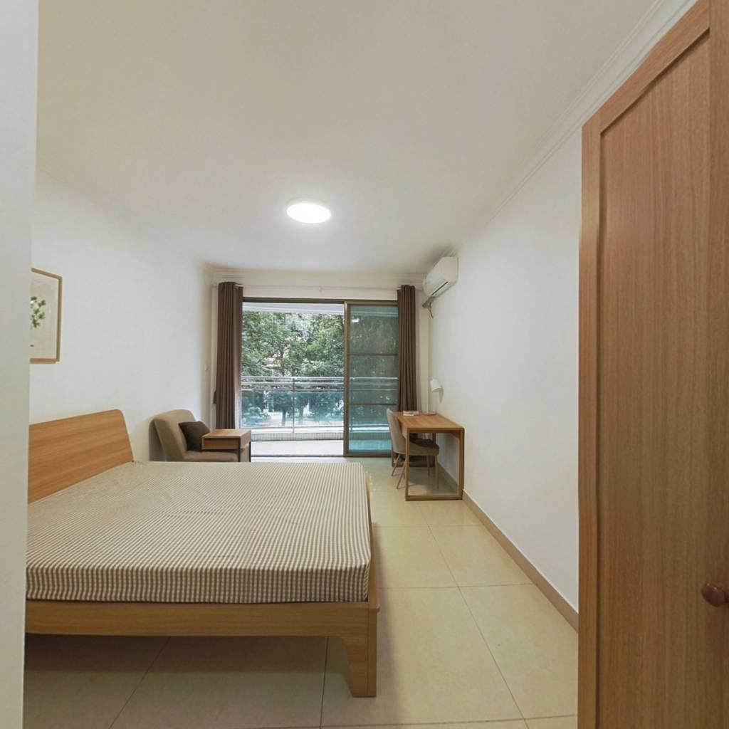 合租·骏景花园 3室1厅 北卧室图