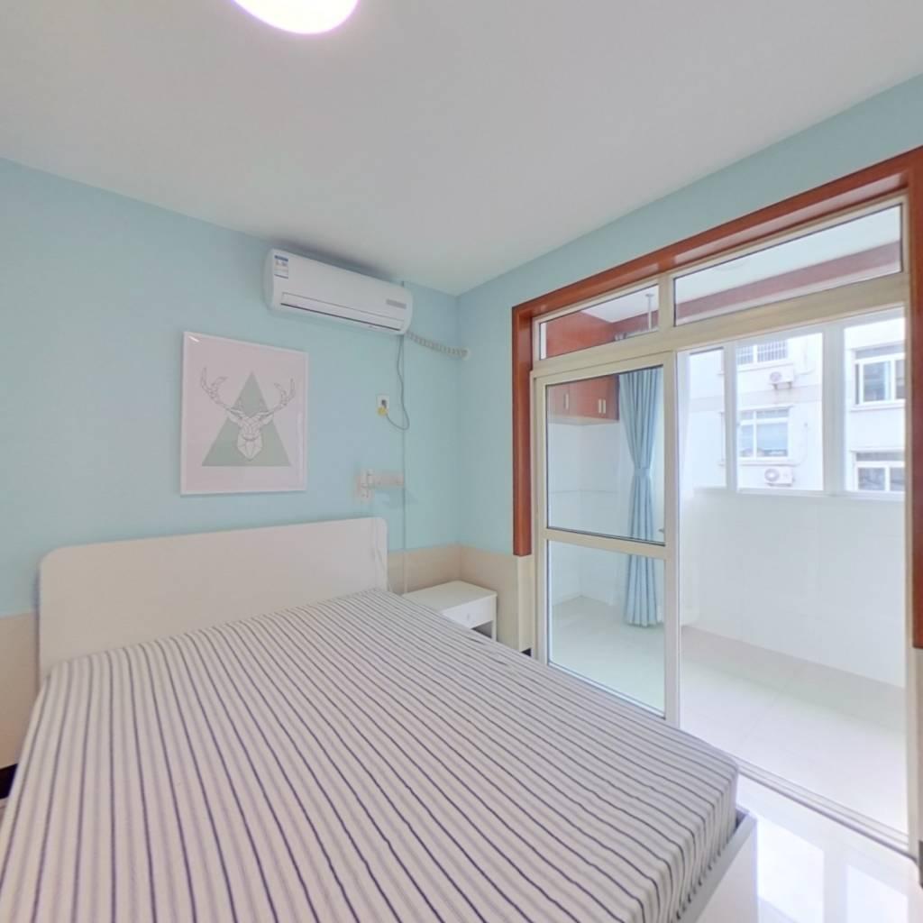 整租·湖墅新村 2室1厅 南卧室图