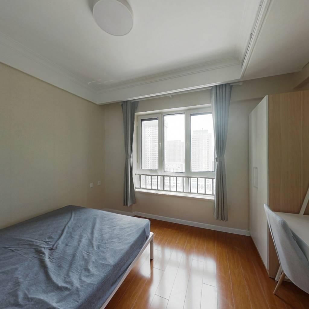 合租·中冶德贤公馆 3室1厅 北卧室图