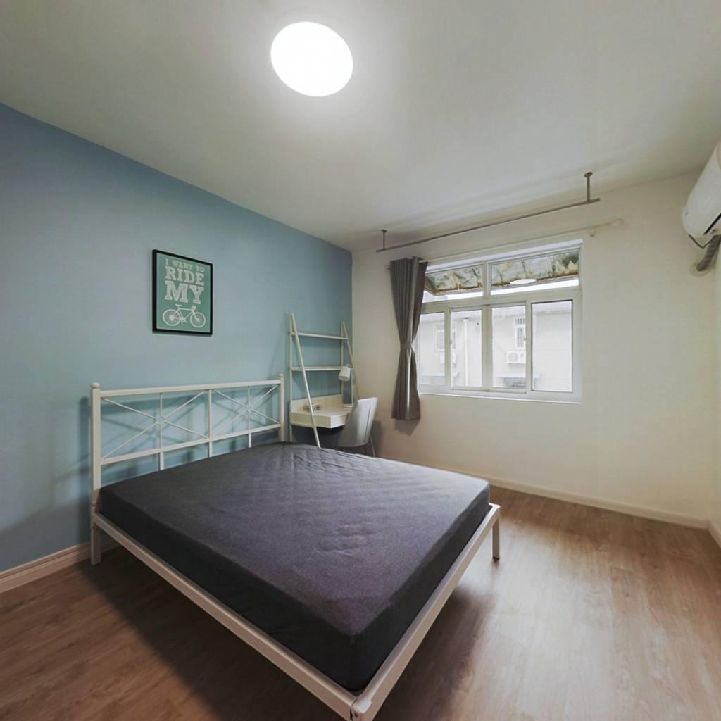 合租·汉口西路 3室1厅 北卧室图