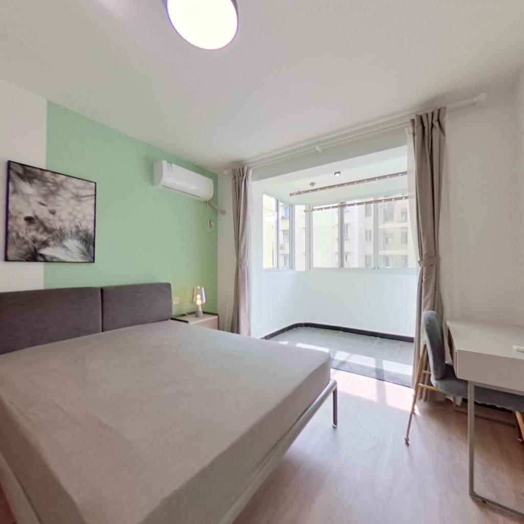 整租·中江小区 1室1厅 卧室图