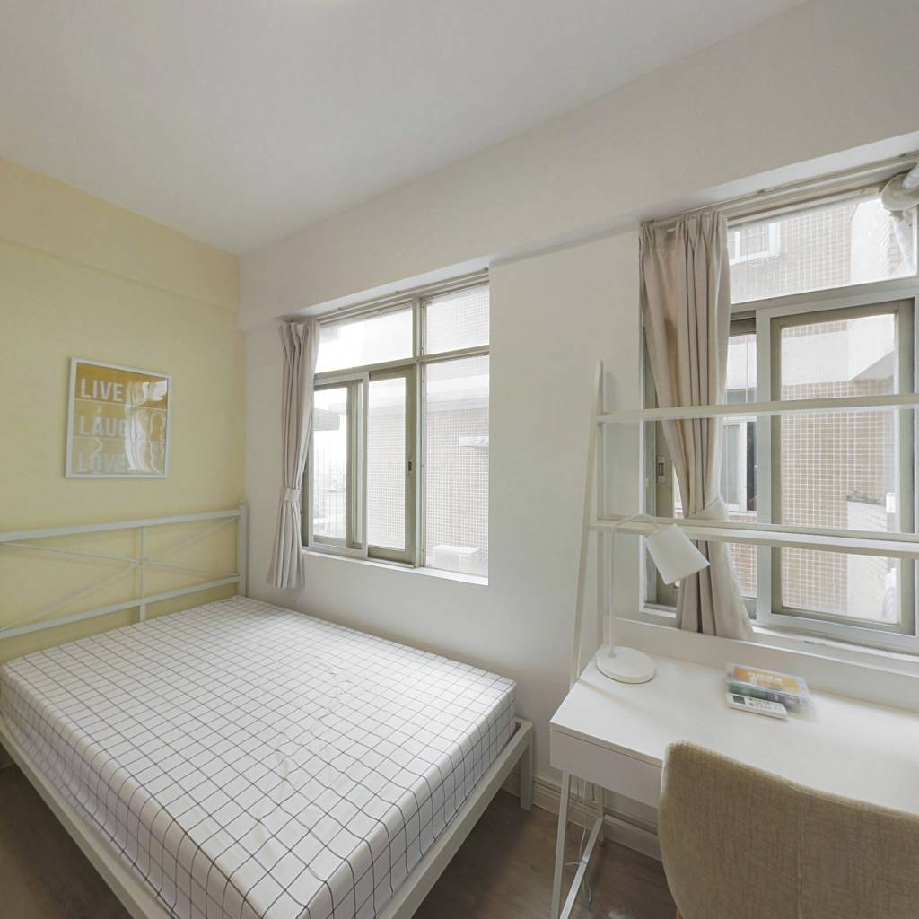 合租·天雅居 4室1厅 西卧室图