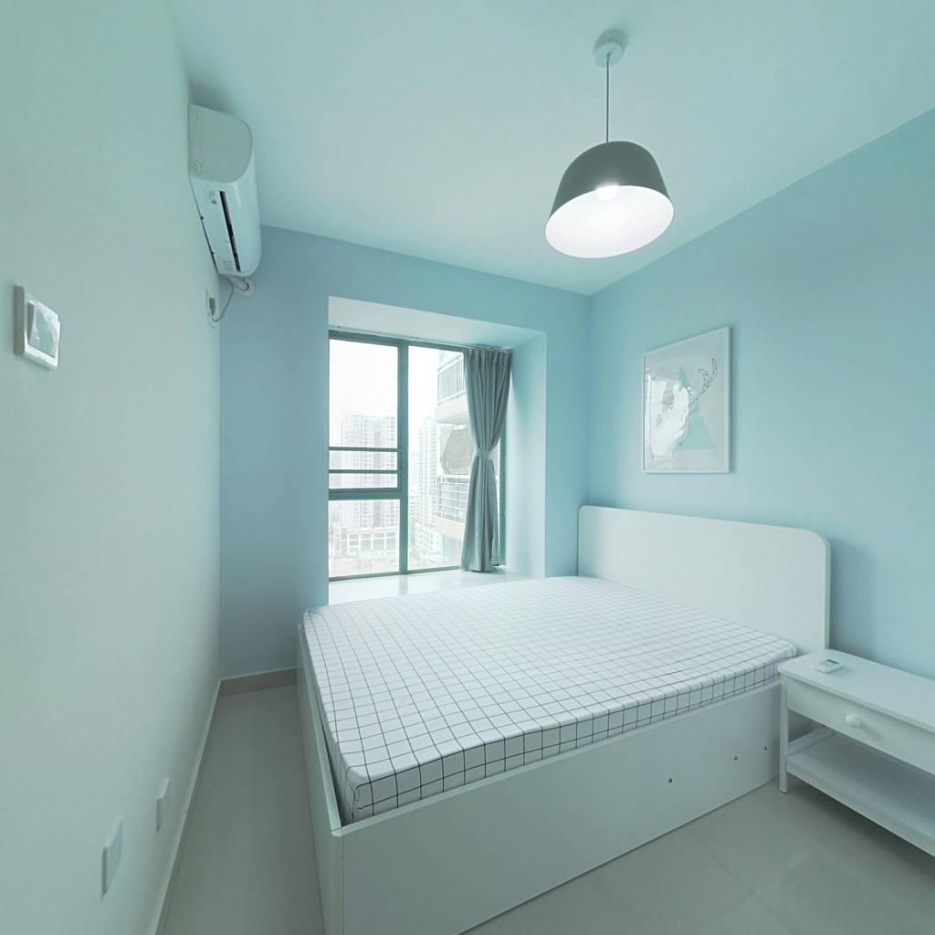 整租·阳基阳光城市 1室1厅 东南卧室图