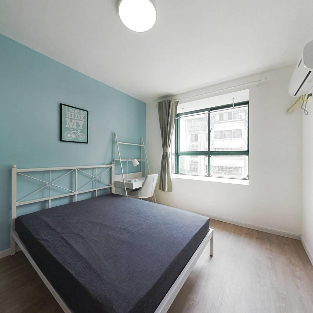 合租·天景山公寓花锦苑 3室1厅 南卧室图