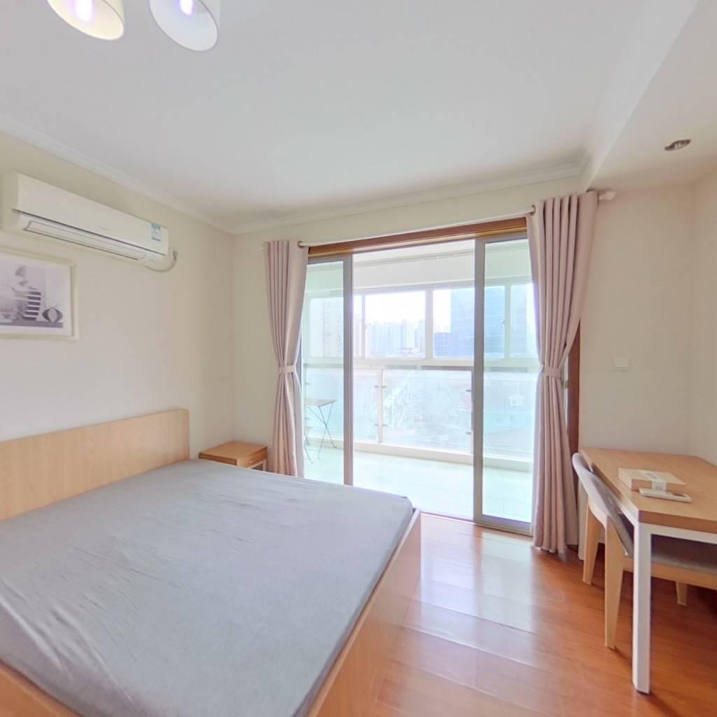 整租·紫兰苑 2室1厅 南卧室图