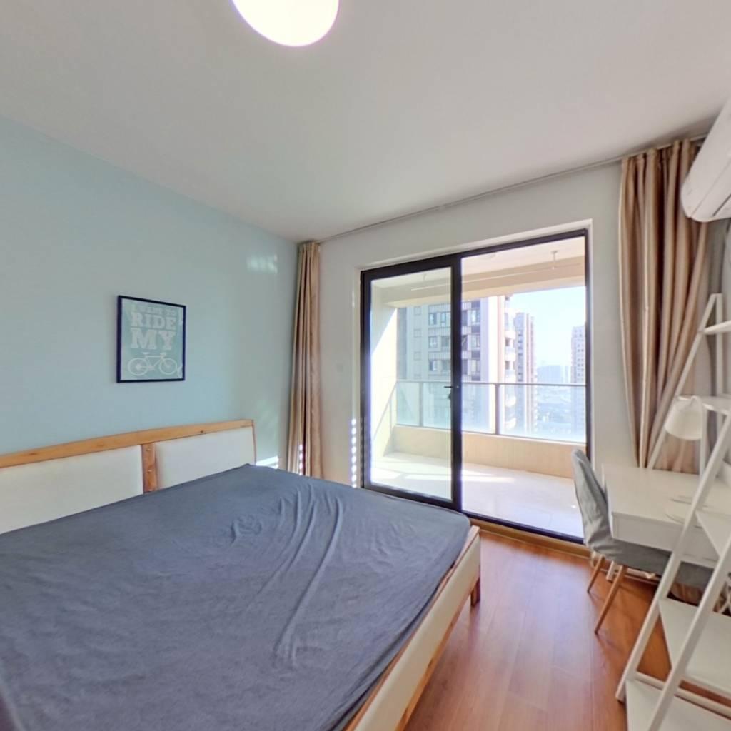 合租·龙湖春江彼岸 4室1厅 南卧室图