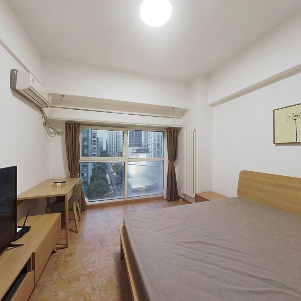 整租·国融国际 1室1厅 北卧室图