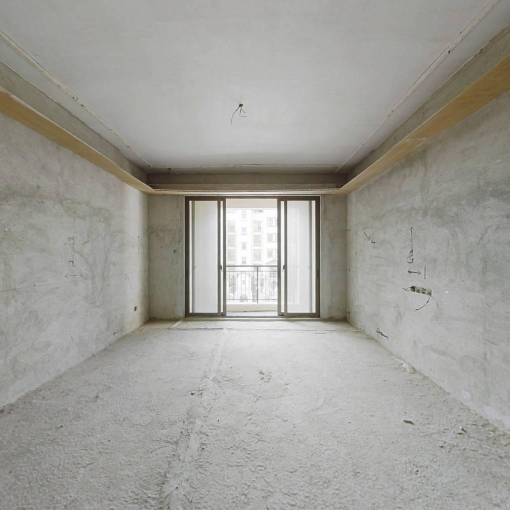 华发蔚蓝堡 毛坯四房 急卖 360万看房子方便有钥匙