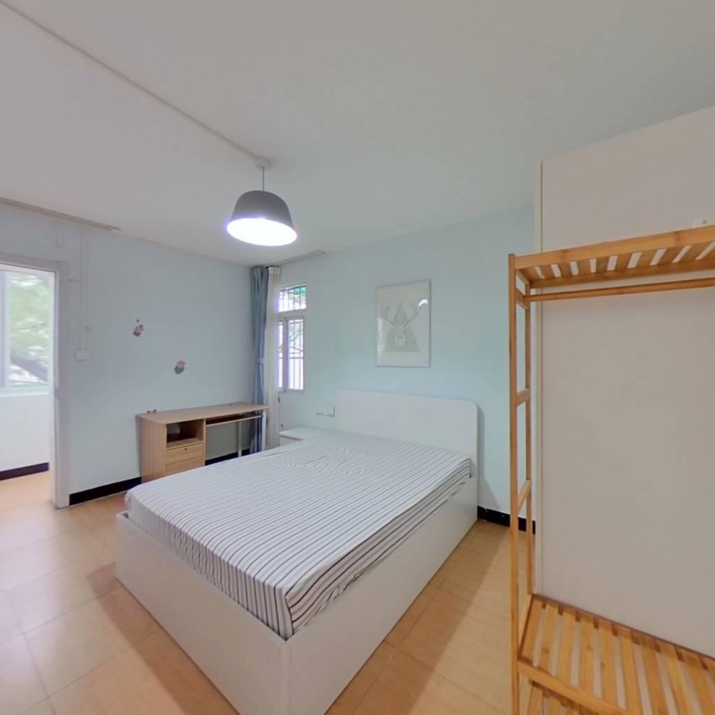 整租·树园 1室1厅 东南卧室图