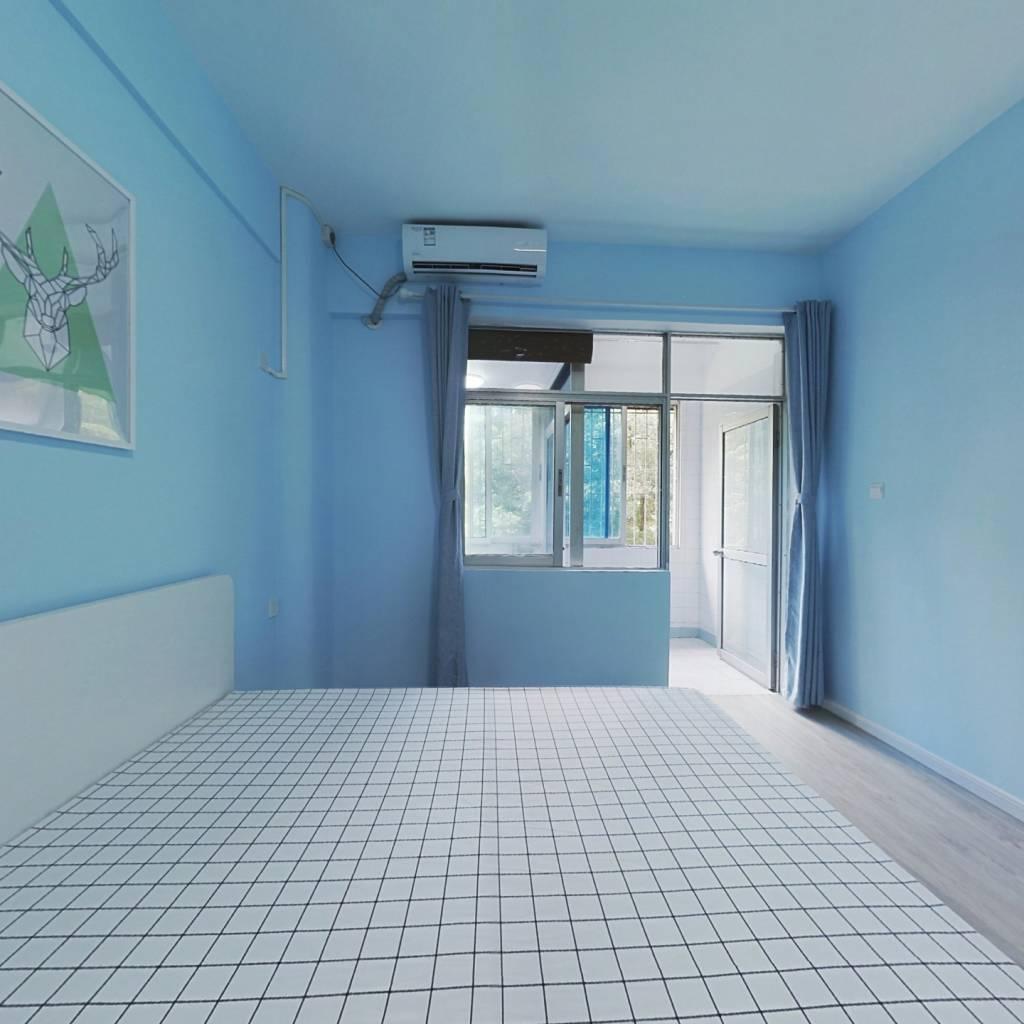 整租·深华公寓 1室1厅 西卧室图