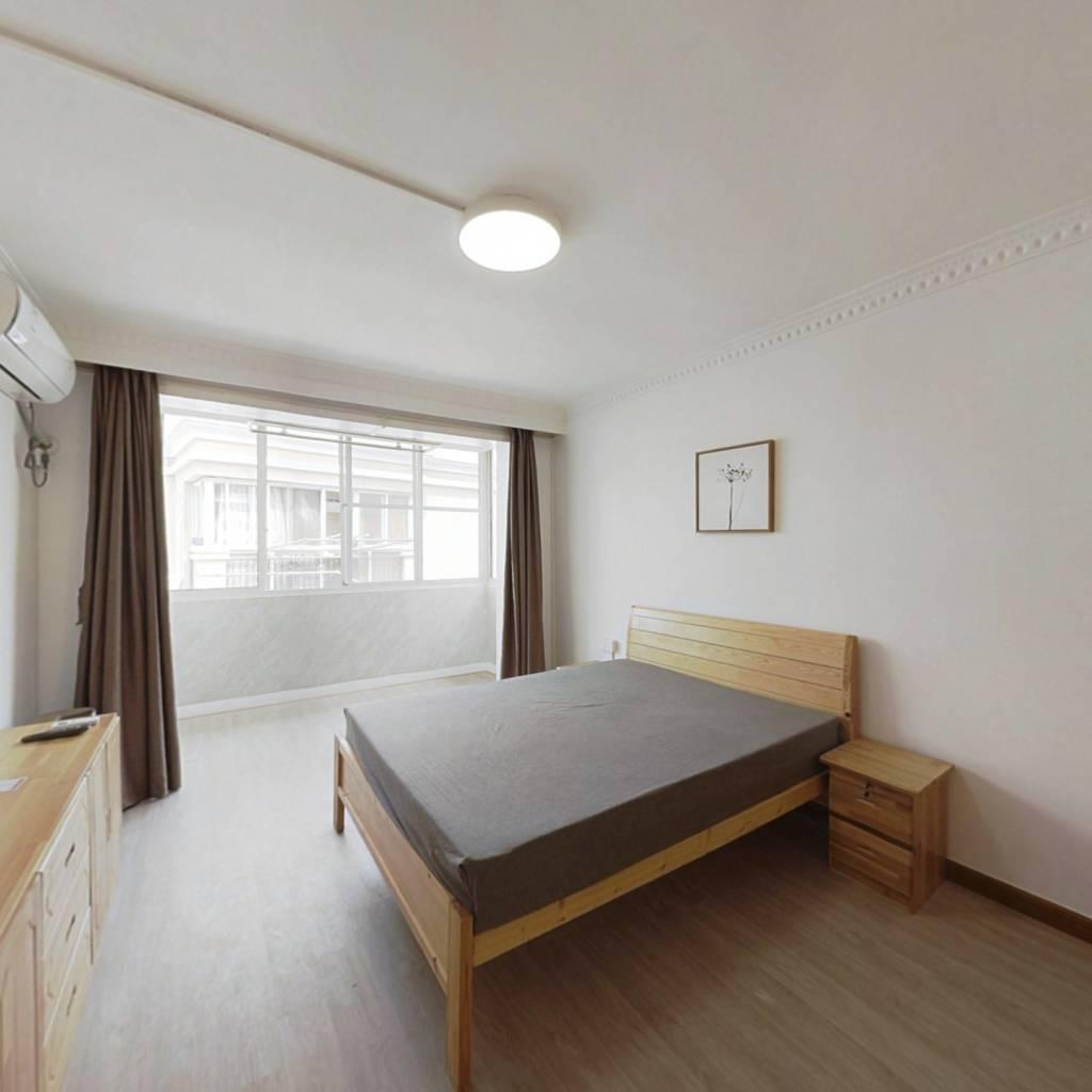 整租·城建小区 1室1厅 南卧室图