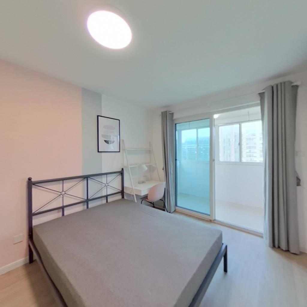 合租·双龙嘉园梅香路5号 4室1厅 东卧室图