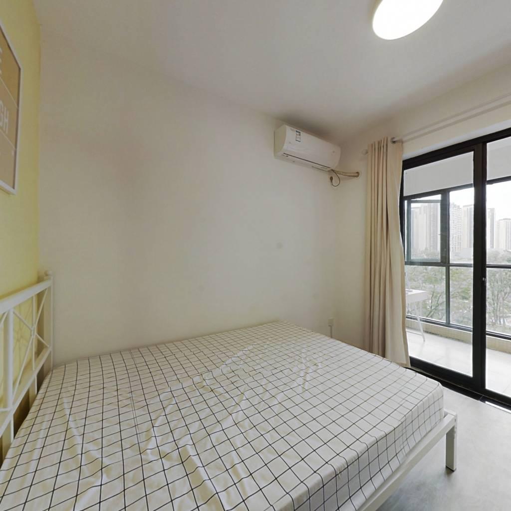 合租·华润二十四城七期 4室1厅 东北卧室图