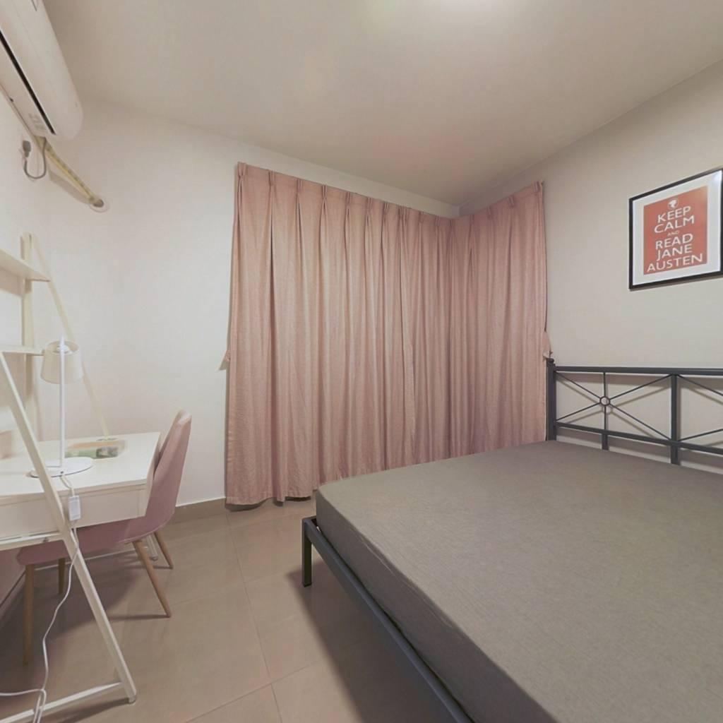 合租·浅水半岛一期 3室1厅 东卧室图