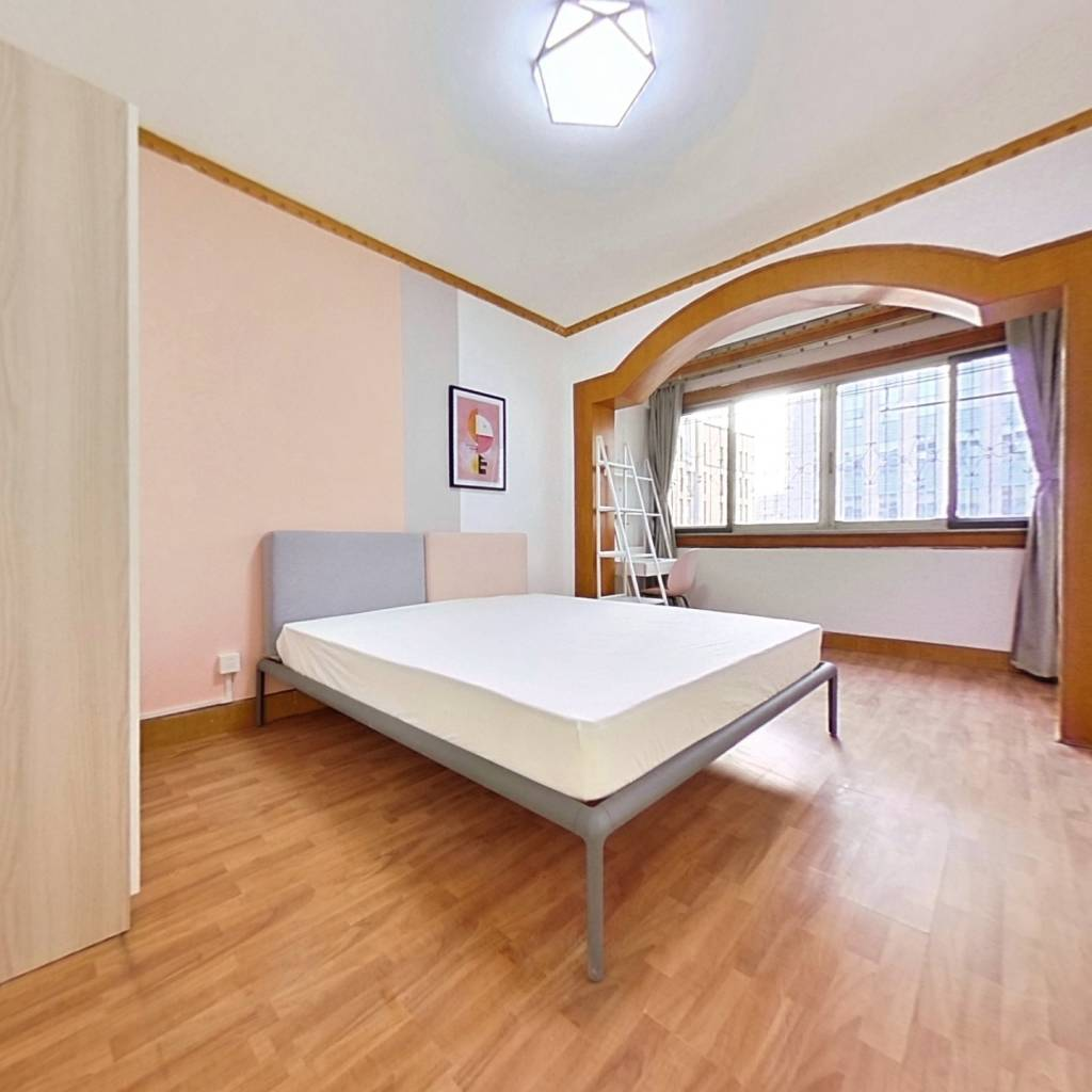 合租·紫菘花园 3室1厅 南卧室图