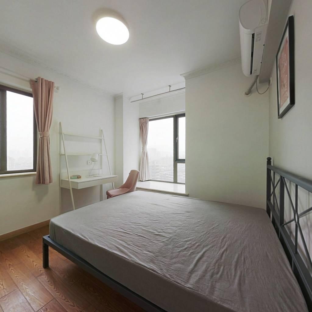 合租·望江橡树林一期 4室1厅 北卧室图