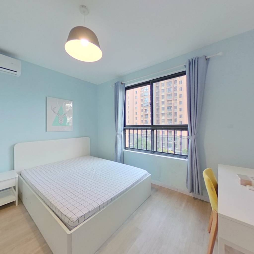 整租·星海家园 1室1厅 南卧室图