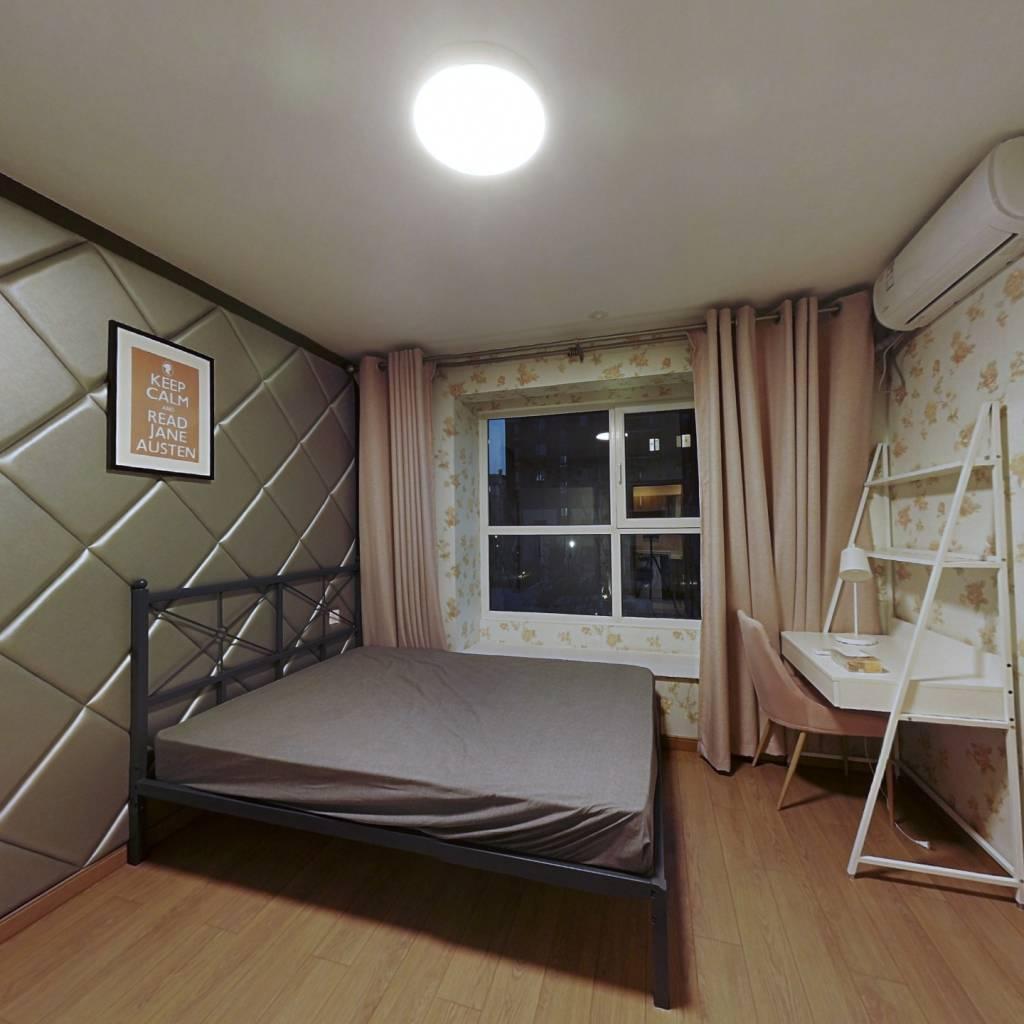 合租·万科四季博园 3室1厅 北卧室图