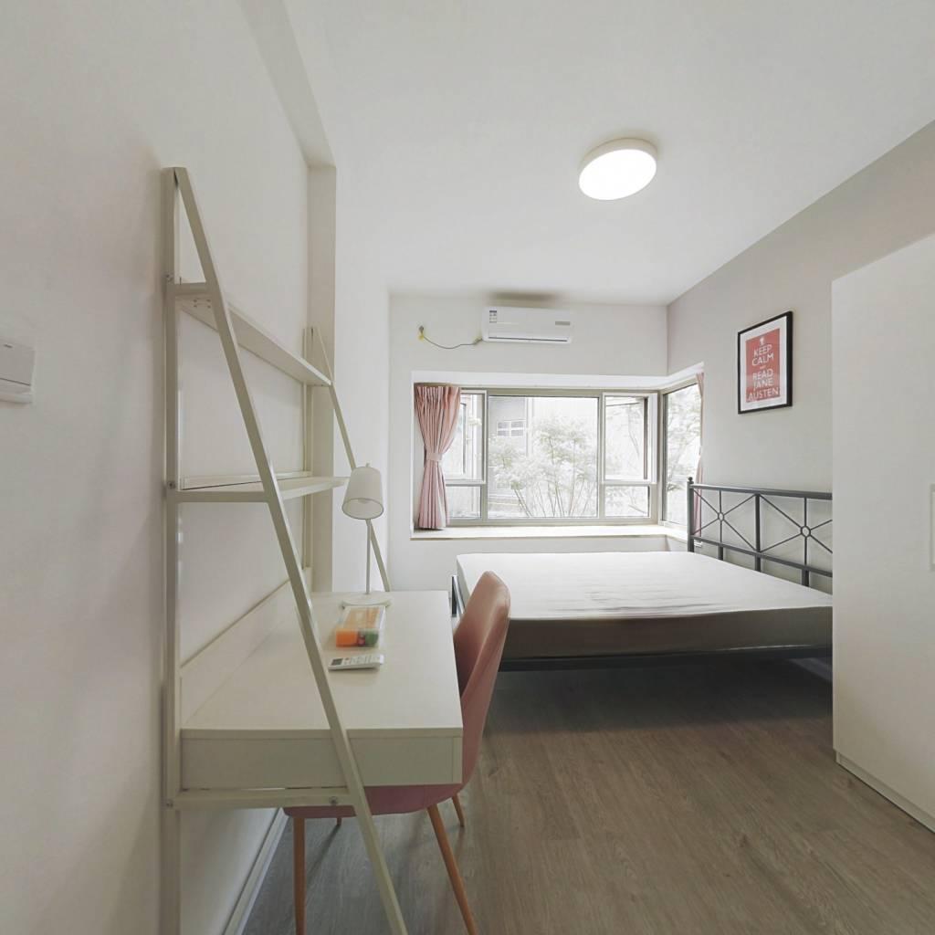 合租·南城都汇汇彩园 3室1厅 南卧室图