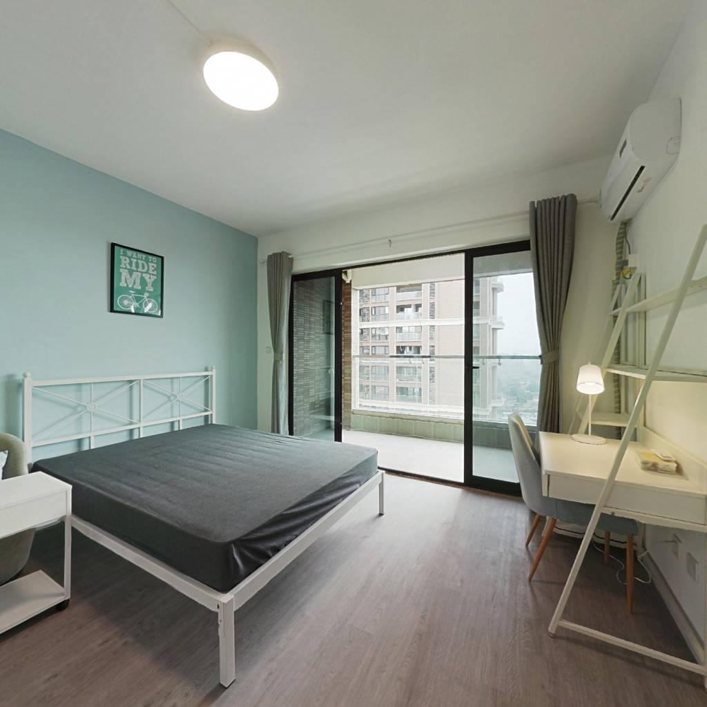 合租·中德英伦联邦C区 4室1厅 南卧室图