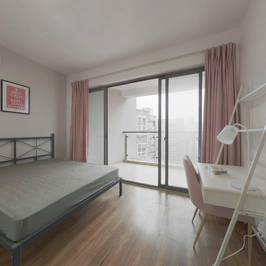 合租·凯华丽景 4室1厅 北卧室图