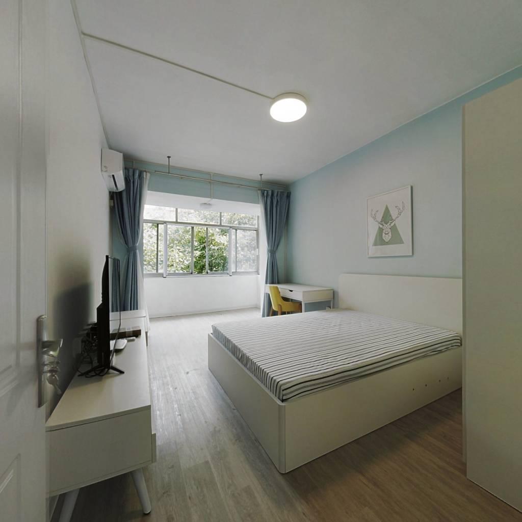 整租·体育场路2-70号 2室1厅 南北卧室图