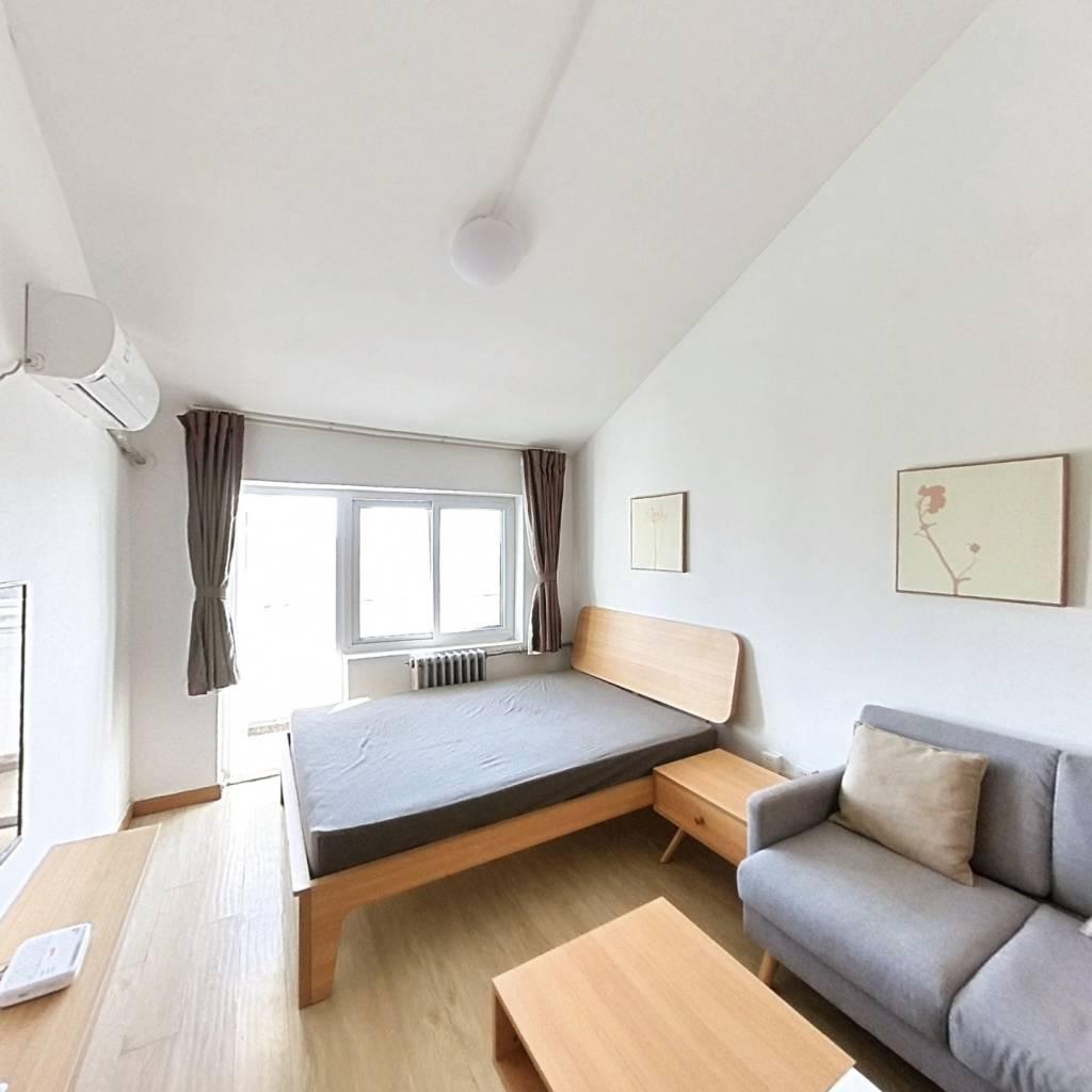 整租·花家地北里 1室1厅 东南卧室图
