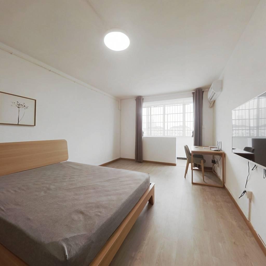 整租·双山小区 1室1厅 南卧室图