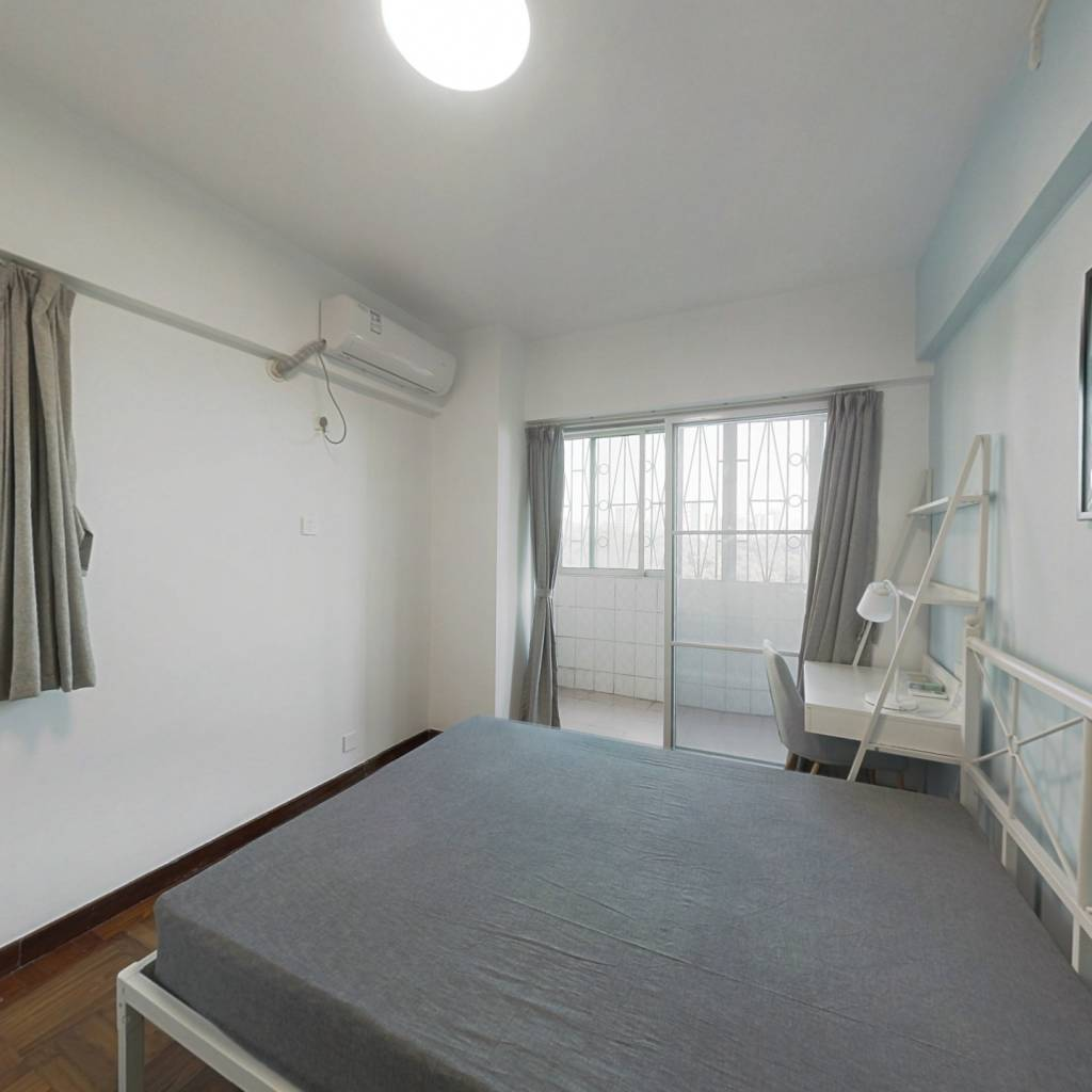 合租·粤和楼 4室1厅 北卧室图