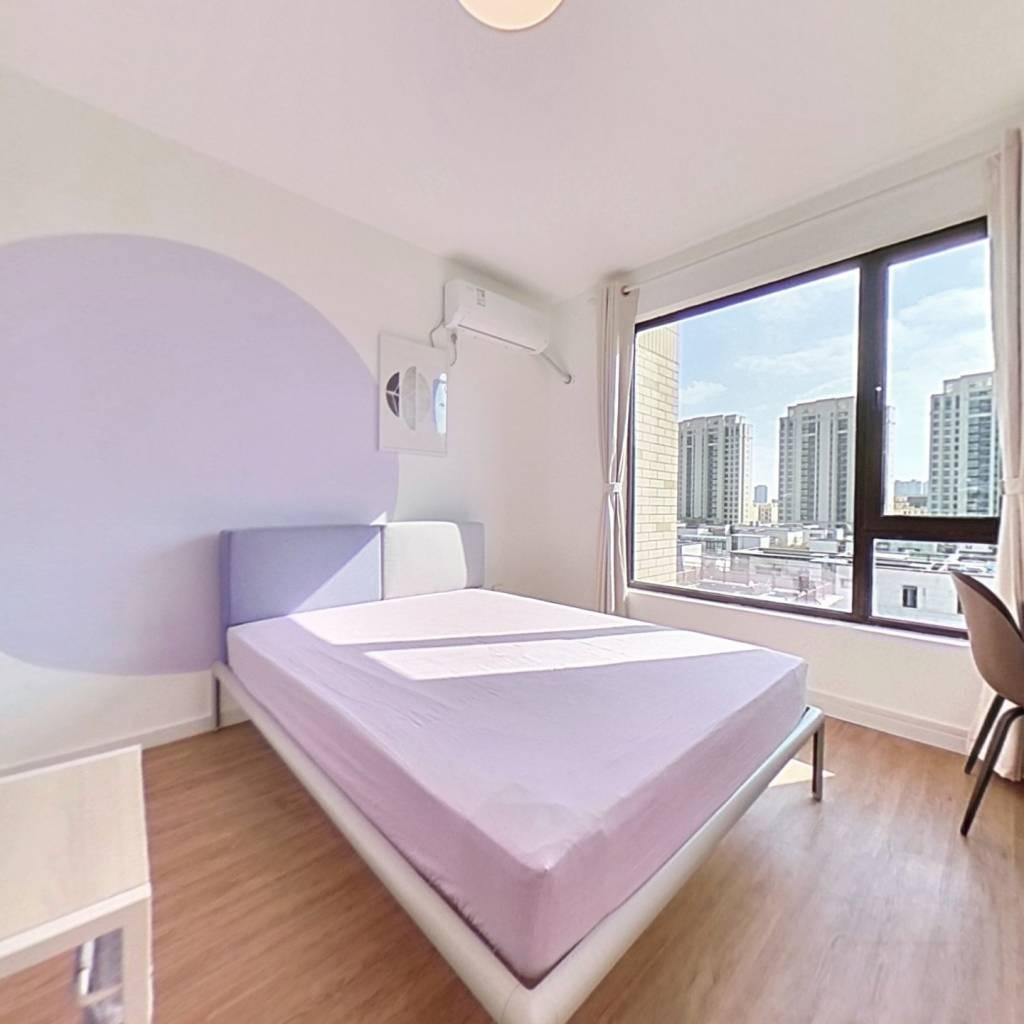 合租·臻品嘉园(公寓) 4室1厅 南卧室图