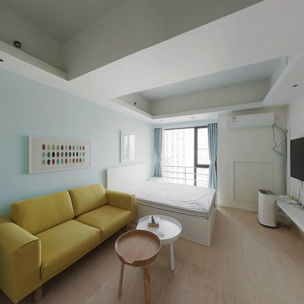 整租·熙汇广场 1室1厅 南卧室图