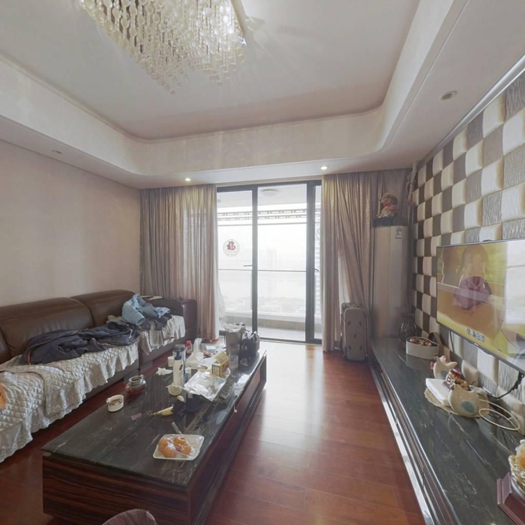 中信红树湾公寓 带平台一房一厅 东南向看河景 无遮挡