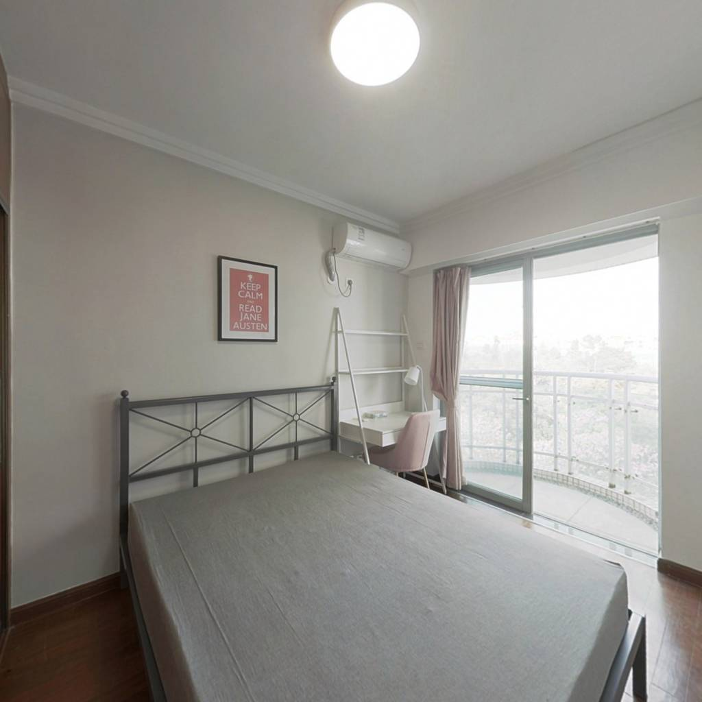 合租·富力桃园 4室1厅 北卧室图