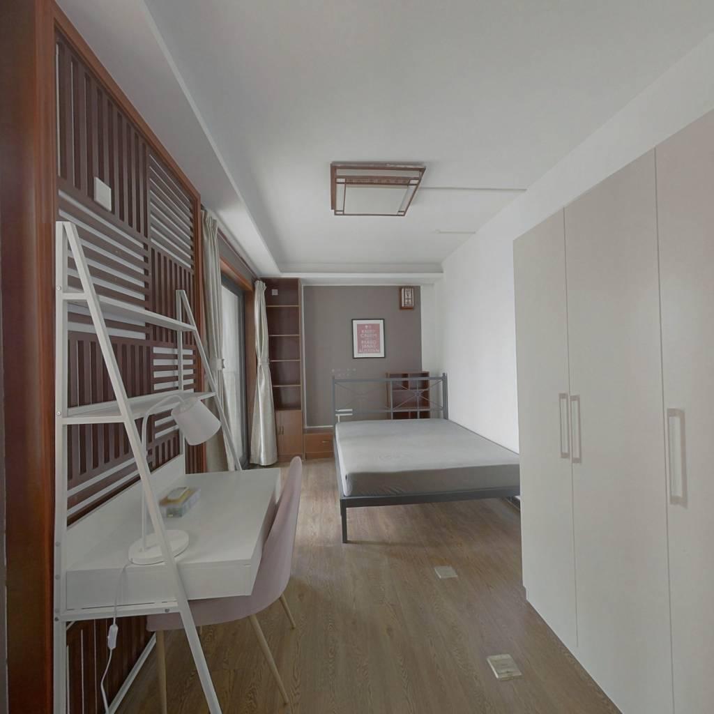 合租·复地东湖国际二期 4室1厅 南卧室图