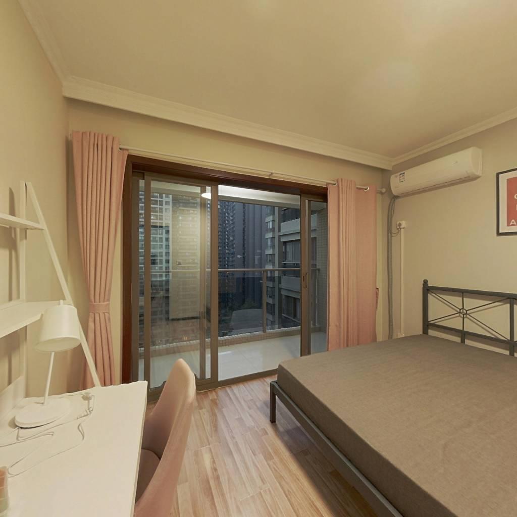 合租·望江橡树林一期 3室1厅 南卧室图