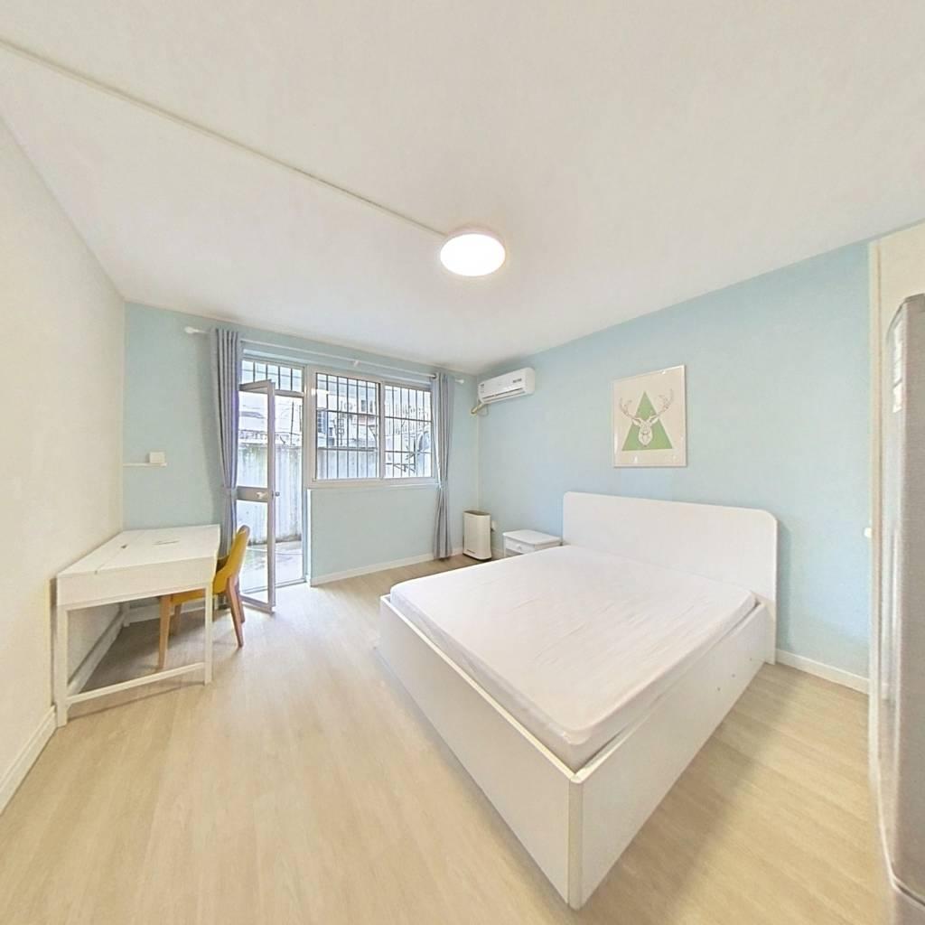 整租·汾西小区 1室1厅 南卧室图