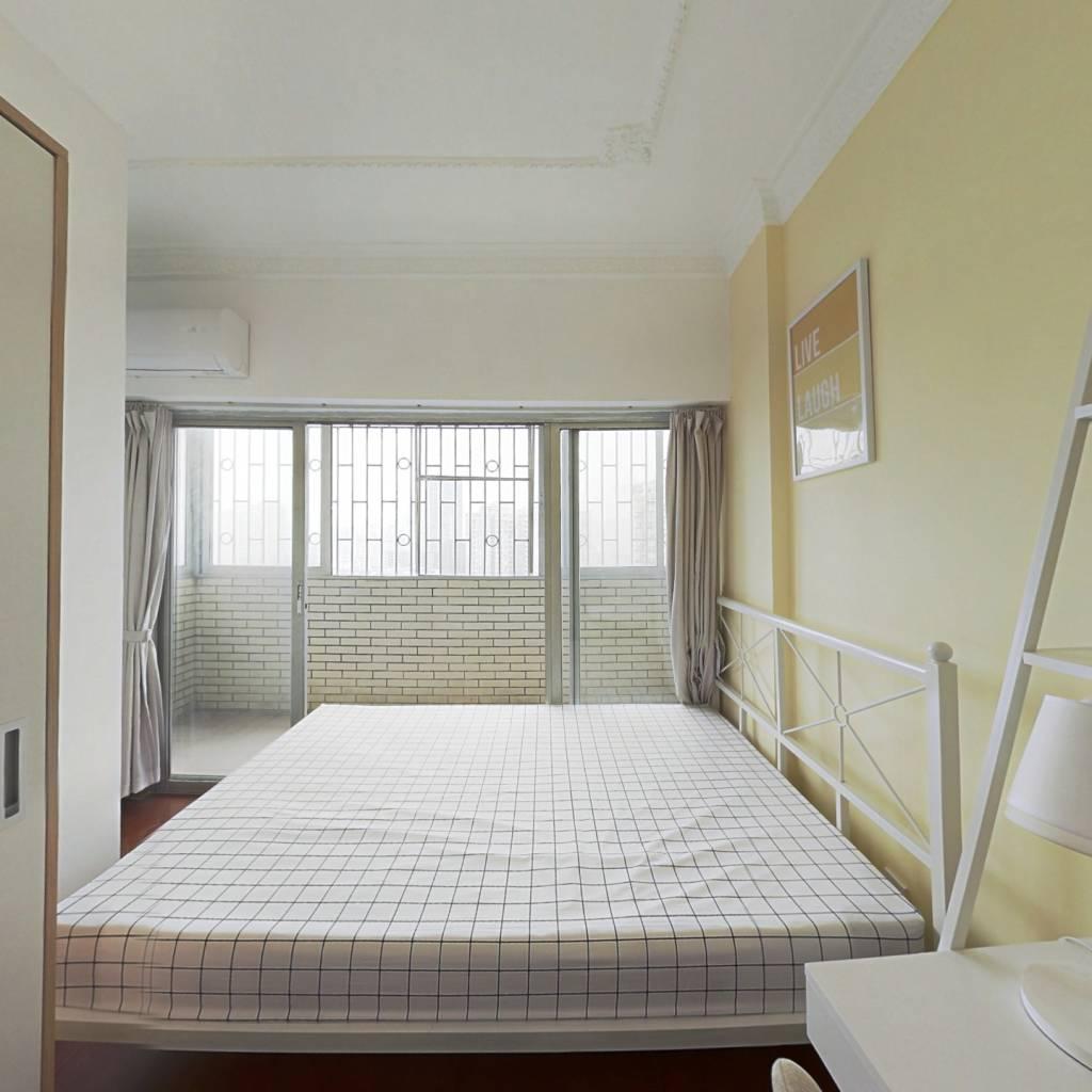 合租·港丰大厦 3室1厅 南卧室图