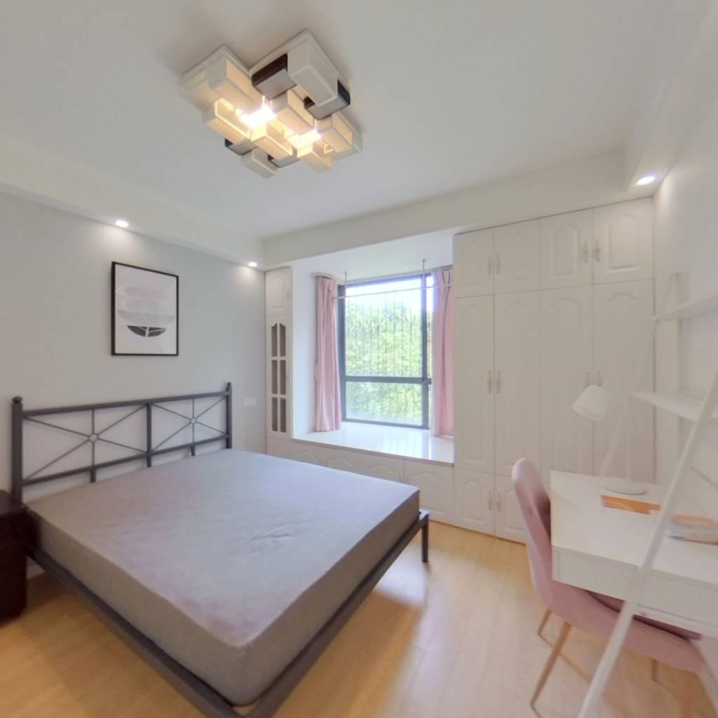 合租·万博家园 4室1厅 南卧室图